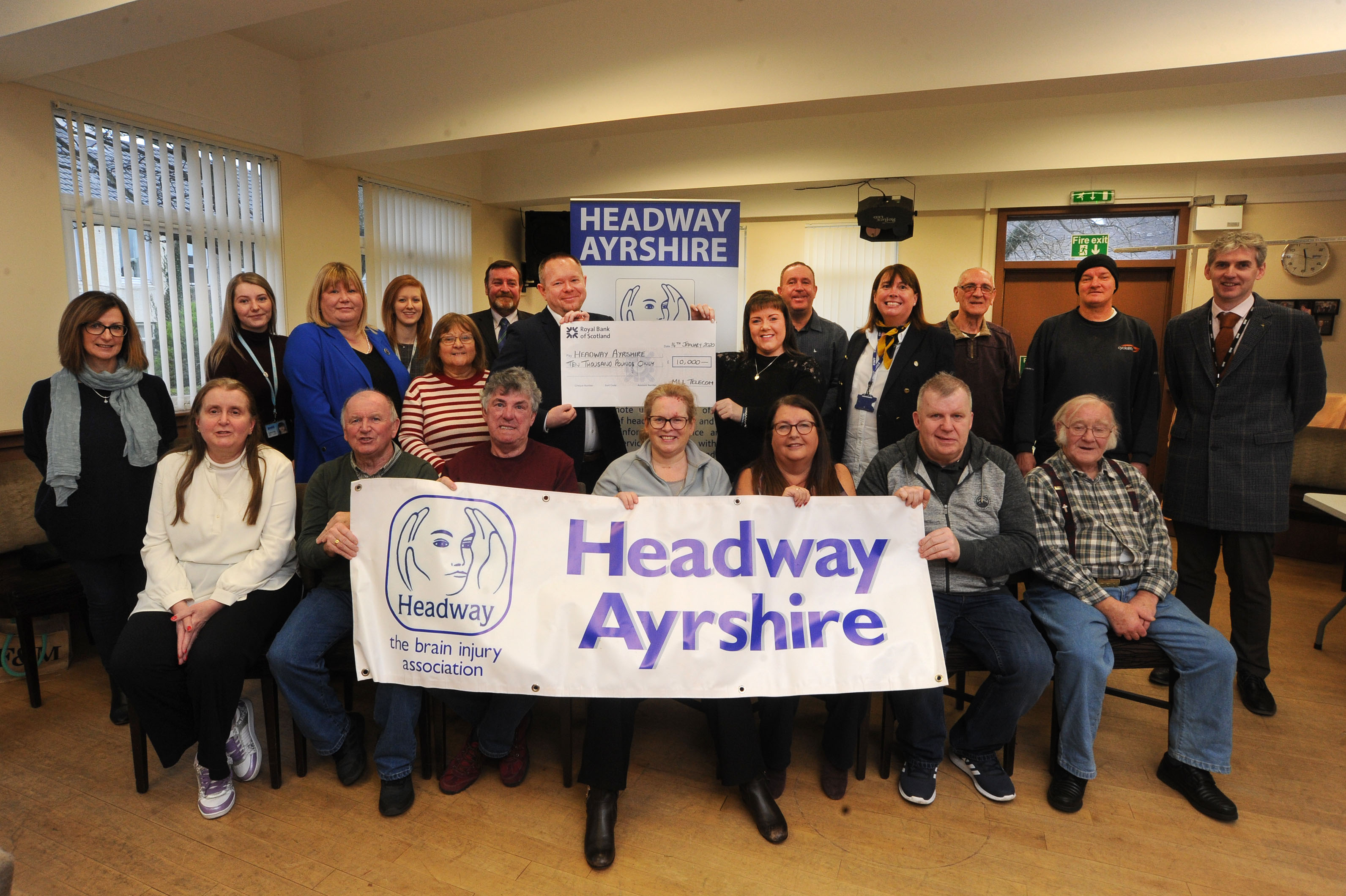 Headway Charity Donation